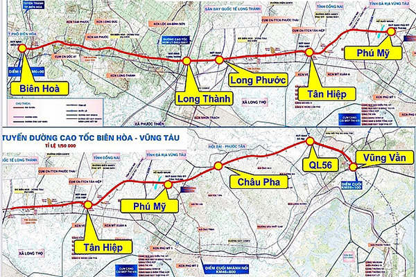 Ministry of Transport proposes to appraise $820 million Bien Hoa-Vung Tau Expressway